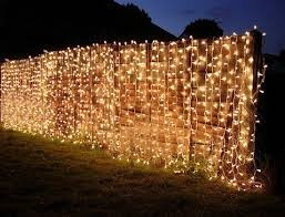 Lights on a wall